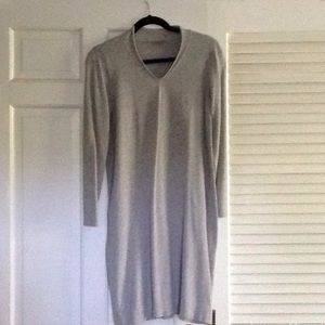 J Jill size M gray dress